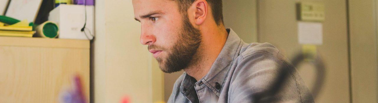 focused guy